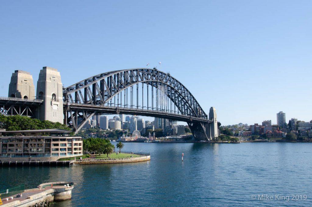 Sydney Harbour Arrival 7724
