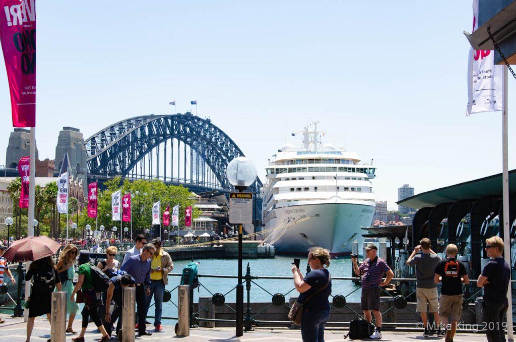 Sydney Harbour Arrival 7777