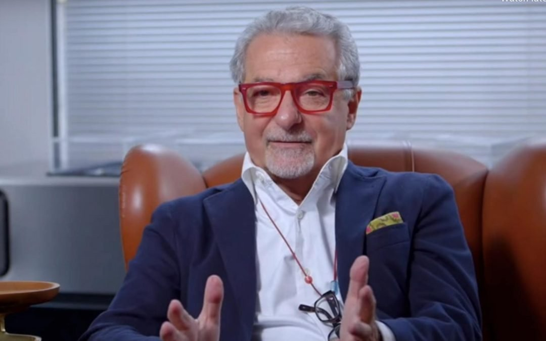 Seabourn Ship Designer Adam. D Tihany shares his vision: VIDEO
