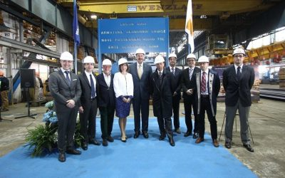 One Step Closer : First steel cut for Seabourn's Newest Ship