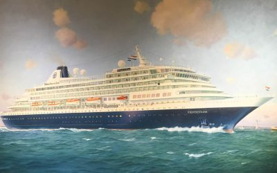 Ship Visit : Holland America's Prinsendam