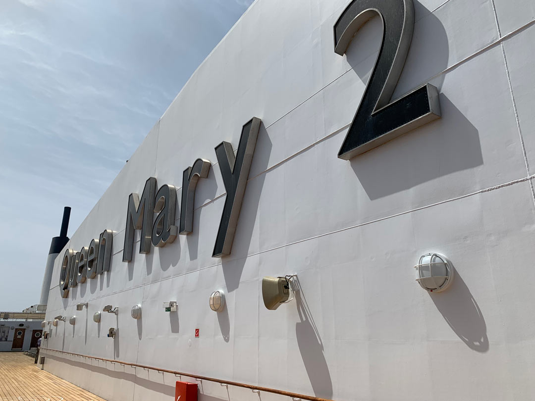 Cunard QM2 Name