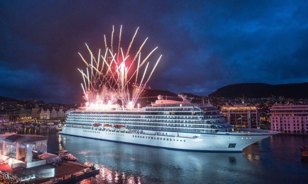 Viking Star Christened in Homeport of Bergen, Norway