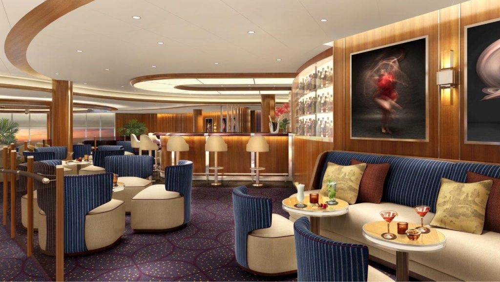 Seabourn Encore club Lounge