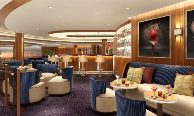 Seabourn Reveals Iconic New Club Lounge on Seabourn Encore