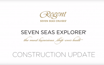 Regent Seven Seas Explorer Construction Update : VIDEO