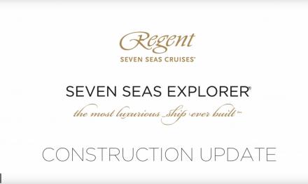 Regent Seven Seas Explorer Construction Update : VIDEO