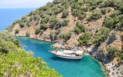 Dream of sailing the turquoise blue waters of the Turkish Riviera