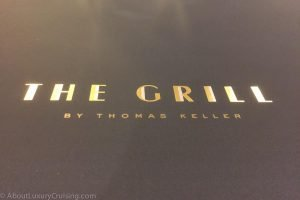 Thomas Keller The Grill on Seabourn