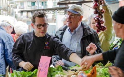 Shopping with Celebrity Chefs