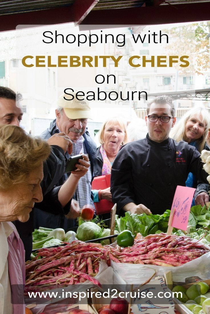 Shopping with the Chef on Seabourn
