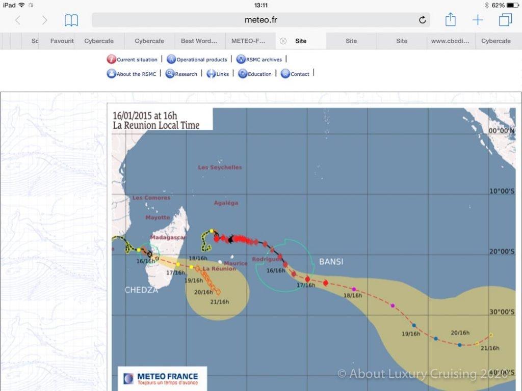 African Cruise Cyclone