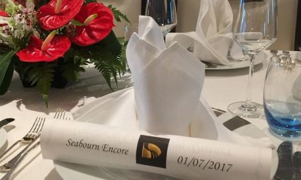 Seabourn Encore Christened in Singapore