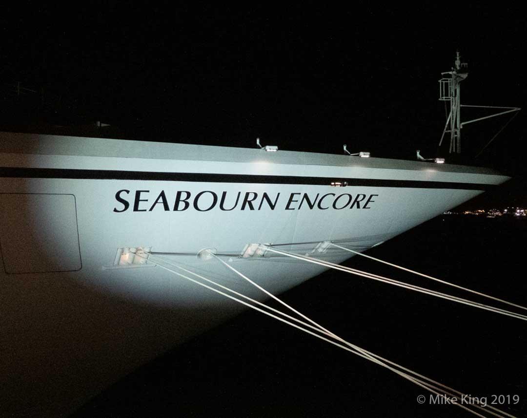 Seabourn Encore Luxury Cruise Ship Christening