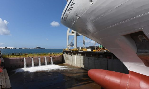 Seabourn Ovation launched in Itlay