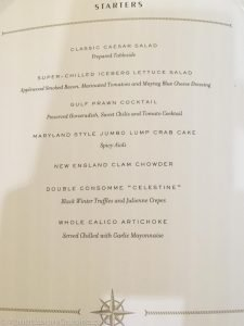Thomas Keller the Grill Menu