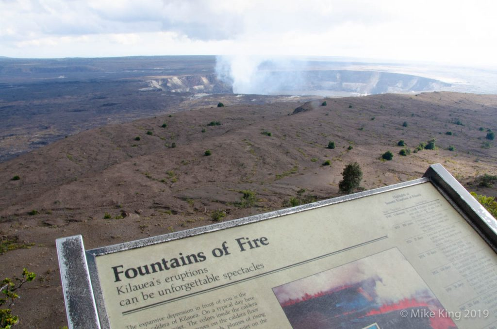 Fountains of Fire Volcano
