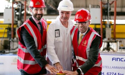 First Steel Cut for New Cunard Ship