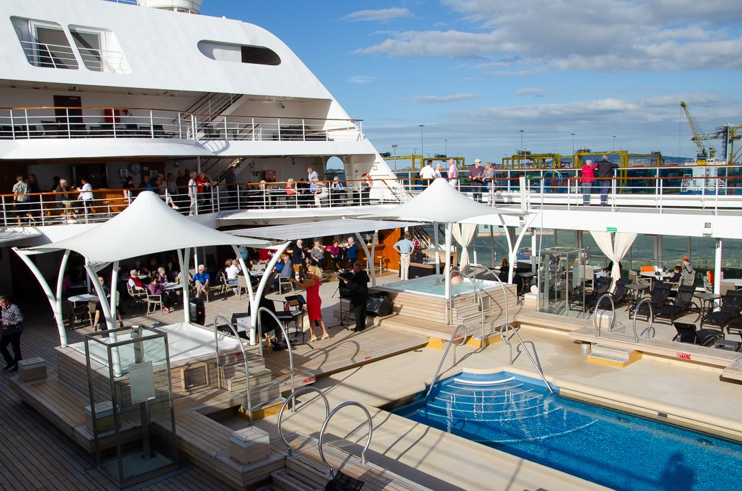 Seabourn Quest Pool Deck Review