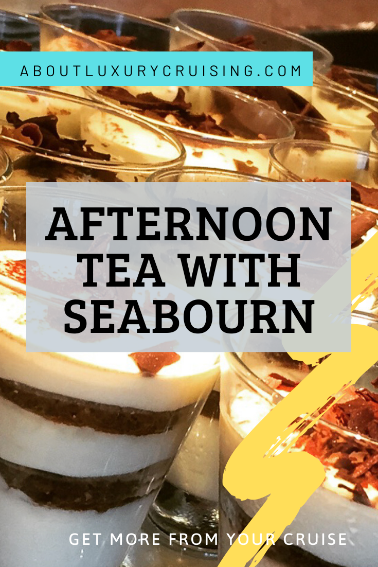 enhanced afternoon tea with seabourn