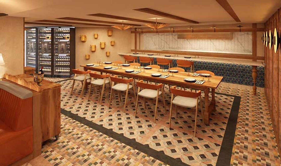 Eclectic New Spanish Restaurant Unveiled by Windstar