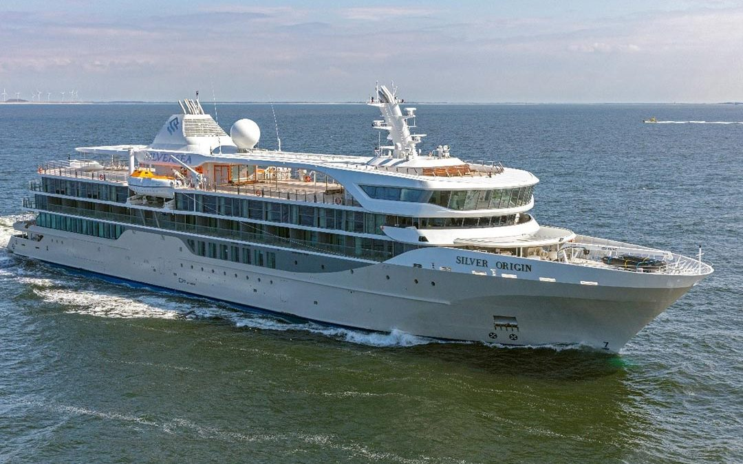 Silversea Welcomes the Beautiful Silver Origin To Its Fleet