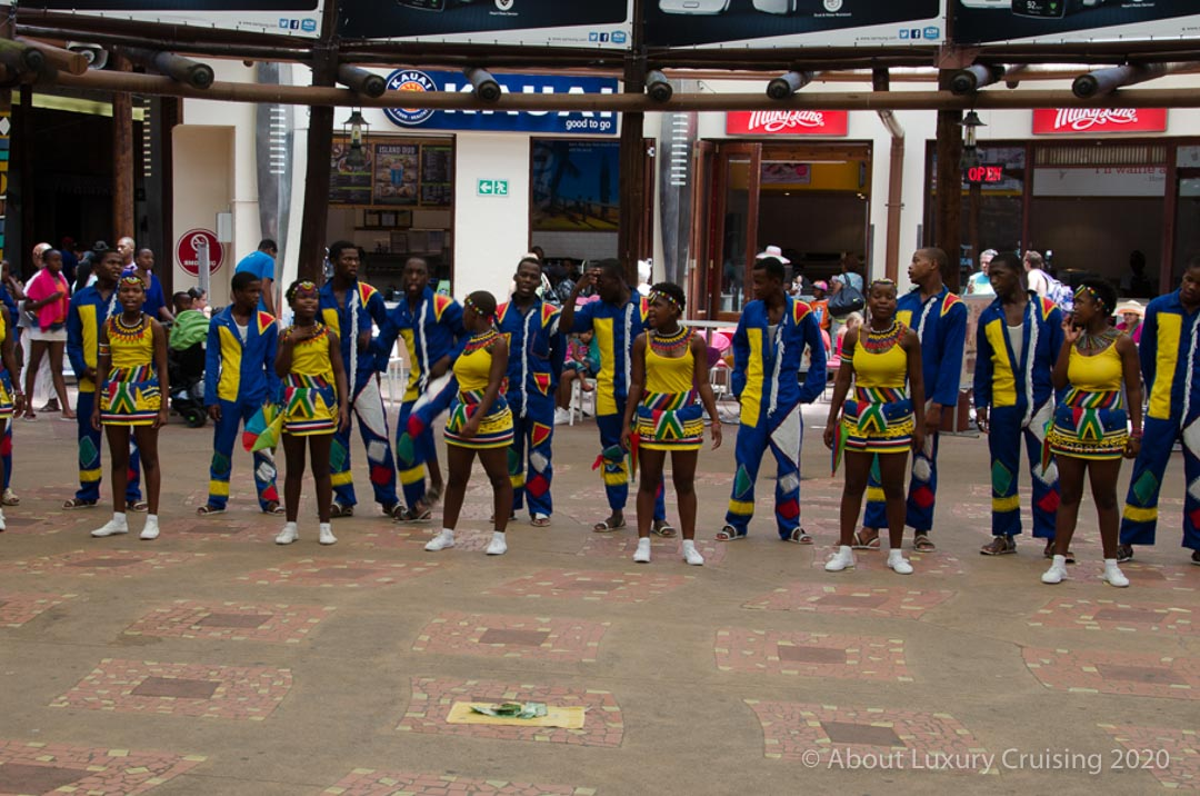 Indlondlo Zulu Dance Group, South African Cruise
