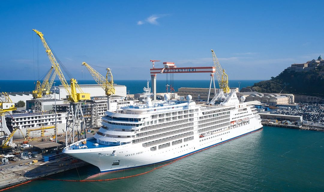 Silversea Cruises Takes Delivery of New Ship – Silver Moon